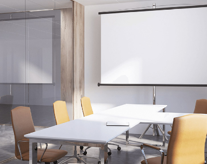 Small conference rooms (less than 6 people)