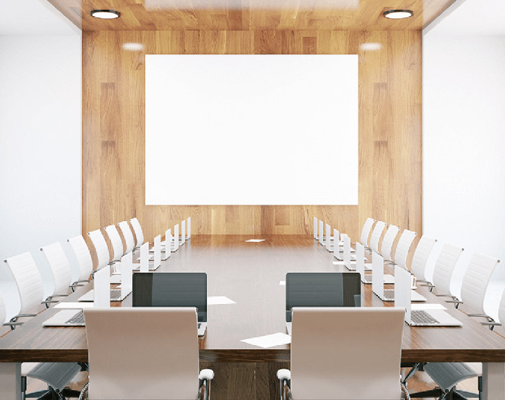 Medium sized conference room (10 ~ 20 people)